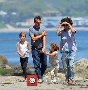 Halle Berry, Olivier Martinez and Malibu Beach