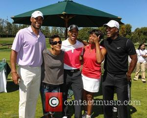 Boris Kodjoe, Halle Berry and Celebrity Golf Classic