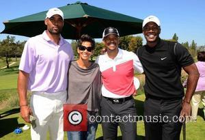 Boris Kodjoe, Flex Alexander, Halle Berry and Celebrity Golf Classic