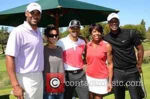 Boris Kodjoe, Dawnn Lewis, Flex Alexander, Halle Berry and Celebrity Golf Classic