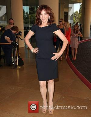 Marilu Henner and Beverly Hilton Hotel