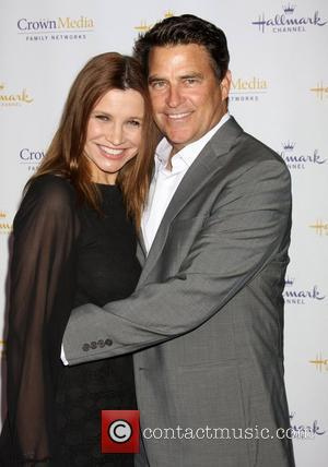 Gigi Rice and Ted McGinley Hallmark Channel's Winter 2012 TCA Press Tour Evening Gala at Tournament House - Arrivals Los...