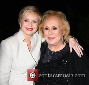 Florence Henderson and Doris Roberts