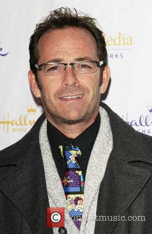Luke Perry Hallmark Channel and Hallmark Movie Channel's '2013 Winter TCA' Press Gala at The Huntington Library and Gardens...