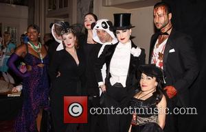 Dita Von Teese and cast attending the 17th Annual NYRP Halloween Benefit Gala, held at the Waldorf-Astoria Hotel.  New...