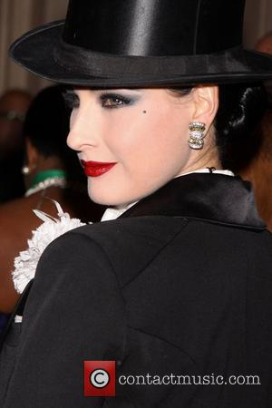 Dita Von Teese  attending the 17th Annual NYRP Halloween Benefit Gala, held at the Waldorf-Astoria Hotel.  New York...