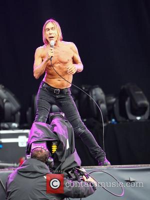 Iggy Pop  Iggy and the Stooges performing live Hard Rock Calling in Hyde Park - Day 1 London, England...