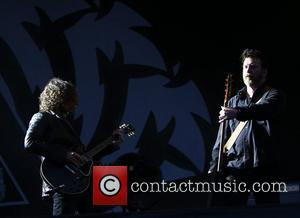 Ben Sherard and Chris Cornell, Soundgarden, Hard Rock Calling, Hyde Park, London