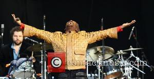 Jimmy Cliff,  perform Paul Simon's album 'Graceland' live at Hard Rock Calling in Hyde Park - Day 3 London,...