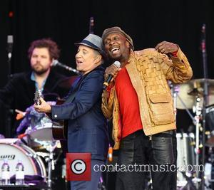 Paul Simon and Jimmy Cliff