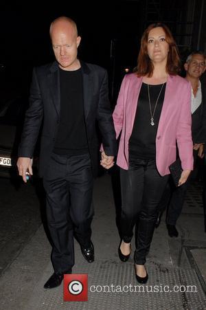 Jake Wood, Alison Wood Celebrities leaving The Harold Pinter Theatre London, England - 30.03.12