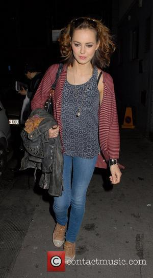 Kara Tointon Celebrities leaving The Harold Pinter Theatre London, England - 30.03.12