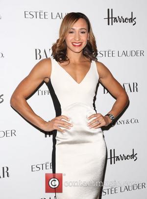 Jessica Ennis At Bazaar Awards