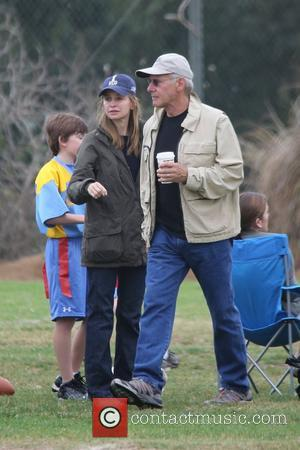 Harrison Ford, Calista Flockhart and Brentwood
