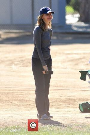 Calista Flockhart enjoys the day at soccer practice Los Angeles, California - 27.10.12