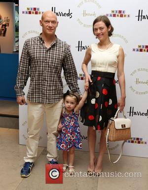Camilla Rutherford and her family Harrods Toy Kingdom VIP launch party - Arrivals London, England - 22.07.12