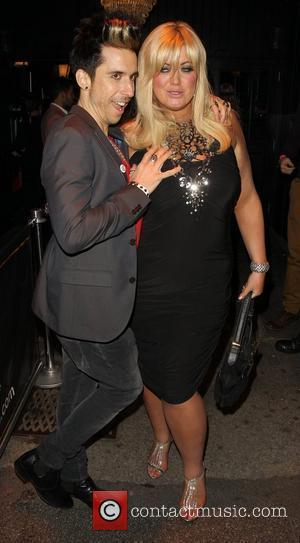 Gemma Collins and Russell Kane Harry Derbidge celebrates his 18th birthday at Sugar Hut Essex, England - 13.04.12