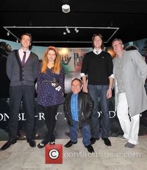 Warwick Davis, Jessie Cave, Mark Williams and Oliver Phelps