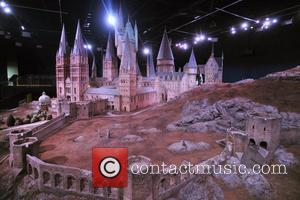 The Making of Harry Potter - Hogwarts Castle scale model media viewing held at Warner Bros. Studios London. London, England...