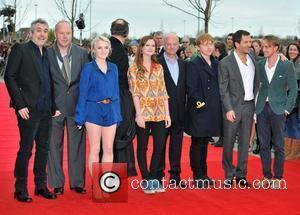 Alfonso Cuaron, Bonnie Wright, David Barron, David Heyman, David Yates, Evanna Lynch, Mike Newell, Rupert Grint and Tom Felton
