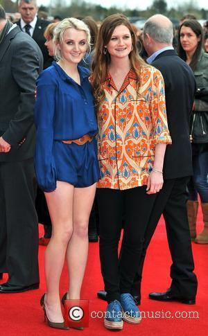 Evanna Lynch and Bonnie Wright  The worldwide Grand Opening event for the  Warner Bros. Studio Tour London 'The...