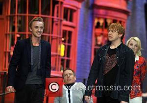 Rupert Grint, Evanna Lynch, Tom Felton and Warwick Davis