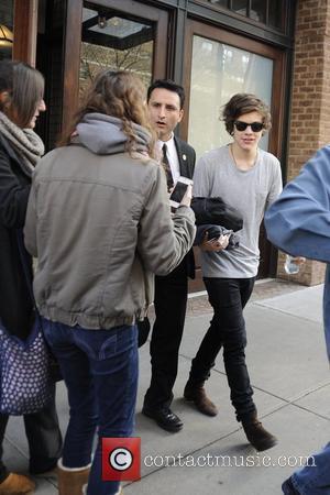 Harry Styles Leaving Taylor Swift's Hotel