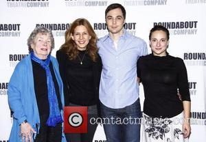 Angela Paton, Jessica Hecht and Jim Parsons
