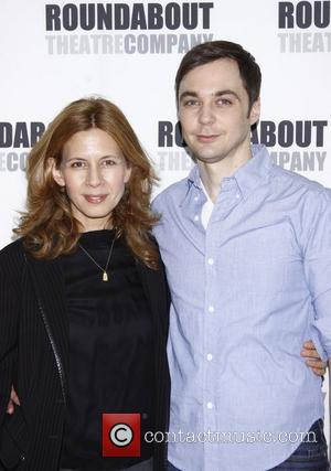 Jessica Hecht and Jim Parsons