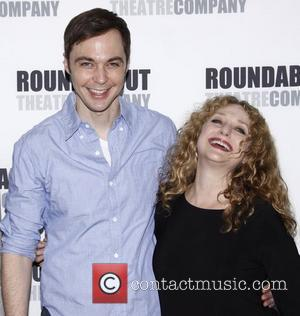 Jim Parsons and Carol Kane