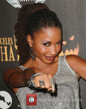 Shanola Hampton  The 4th Annual Los Angeles Haunted Hayride VIP Premiere Night, held at Griffith Park Los Angeles, California...