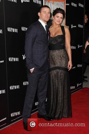 Channing Tatum and Gina Carano