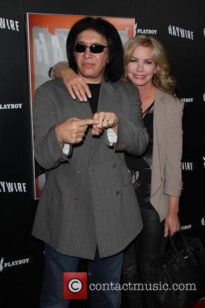 Gene Simmons and Shannon Tweed 'Haywire' Los Angeles premiere at the DGA Theater - Arrivals Los Angeles, California - 05.01.12