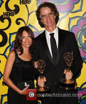 Jay Roach and Susanna Hoffs HBO's Annual Emmy Awards Post Awards Reception at the Pacific Design Center  Los Angeles,...