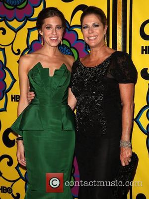 Allison Williams and Rita Wilson