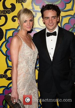 Ashlee Simpson and Vincent Piazza