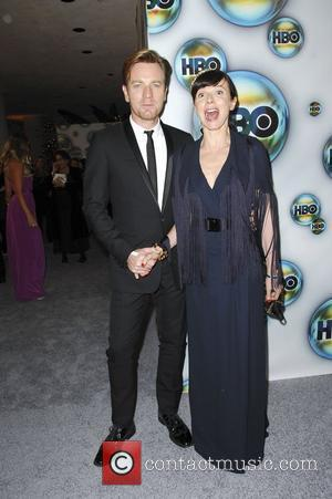 Ewan McGregor, Eve Mavrakis  The 69th Annual Golden Globe Awards (Golden Globes 2012) HBO after party held at Circa...