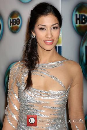 Janina Gavankar The 69th Annual Golden Globe Awards (Golden Globes 2012) HBO after party held at Circa 55 Restaurant Los...