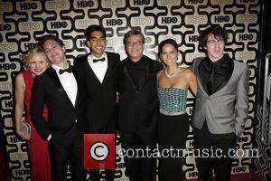 Alison Pill, Thomas Sadoski, Dev Patel, Aaron Sorkin, Olivia Munn, John Gallagher Jr and Beverly Hilton Hotel