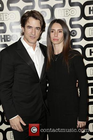 Dermot Mulroney; Tharita Catulle 2013 HBO's Golden Globes Party at the Beverly Hilton Hotel - Arrivals  Featuring: Dermot Mulroney,...