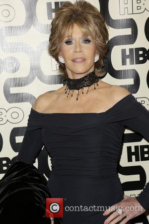 Jane Fonda 2013 HBO's Golden Globes Party at the Beverly Hilton Hotel - Arrivals  Featuring: Jane Fonda Where: Beverly...