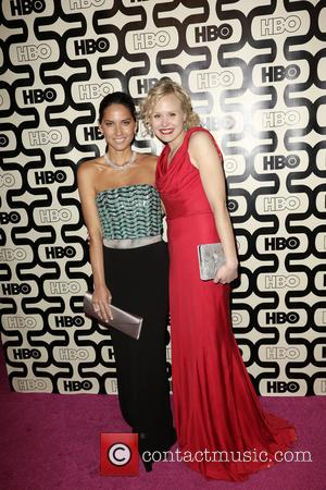 Olivia Munn, Alison Pill and Beverly Hilton Hotel