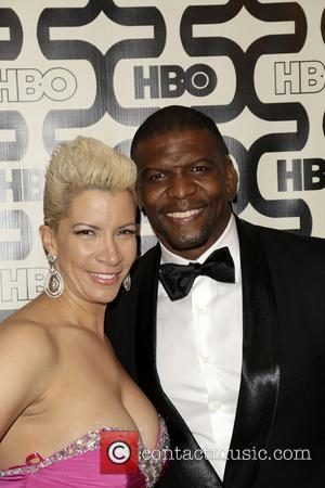 Rebecca King, Terry Crews and Beverly Hilton Hotel