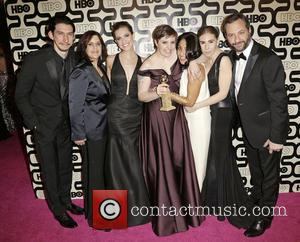 Adam Driver; Ilene S. Landress; Allison Williams; Guests 2013 HBO's Golden Globes Party at the Beverly Hilton Hotel - Arrivals...
