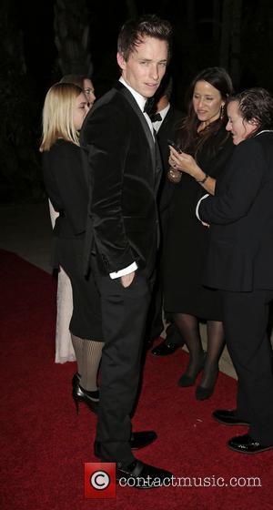 Eddie Redmayne and Beverly Hilton Hotel