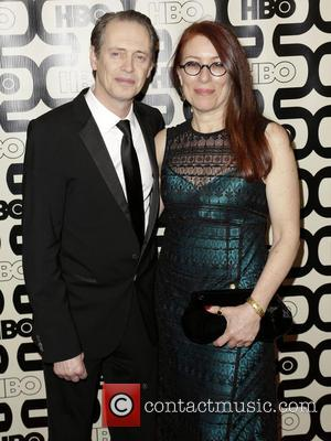Steve Buscemi; Jo Andres 2013 HBO's Golden Globes Party at the Beverly Hilton Hotel - Arrivals  Featuring: Steve Buscemi,...