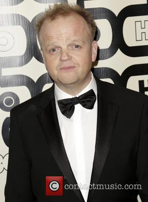 Toby Jones and Beverly Hilton Hotel