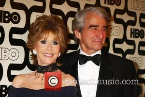 Jane Fonda; Sam Waterson 2013 HBO's Golden Globes Party at the Beverly Hilton Hotel  Featuring: Jane Fonda, Sam Waterson...