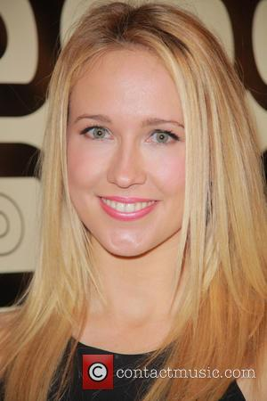 Anna Camp and Beverly Hilton Hotel