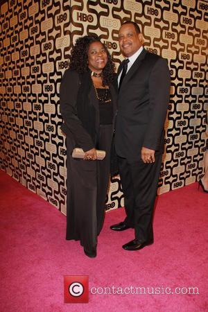 Loretta Devine; her husband 2013 HBO's Golden Globes Party at the Beverly Hilton Hotel - Arrivals  Featuring: Loretta Devine,...